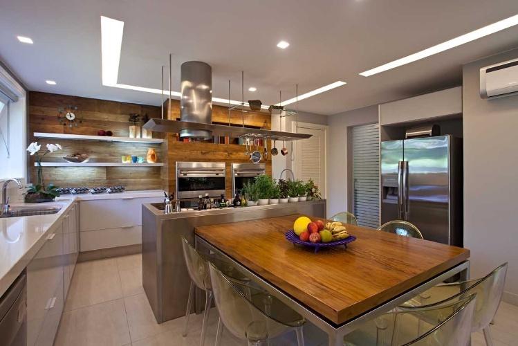Cozinhas copas e varanda gourmet inspiram refeies em famlia  Casa e Decorao  UOL Mulher