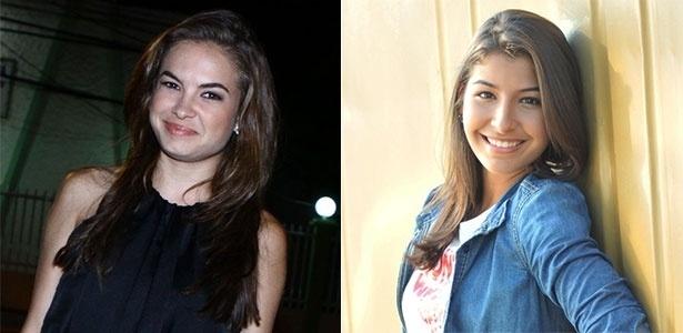 Lua Blanco e Juliana Xavier, atrizes que estão deixando a Record