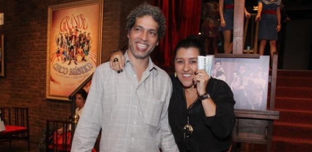 Regina Casé e o marido, Estevão Ciavatta