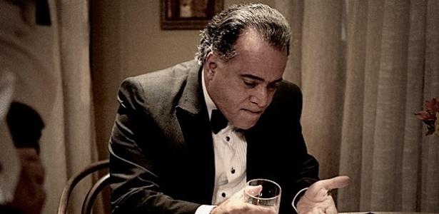 "Tony Ramos na pele de Braga, de ""O Rebu"""