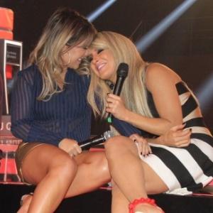 """Fernanda Souza recebe Cláudia Leitte na primeira temporada do """"Vai Fernandinha"""""""