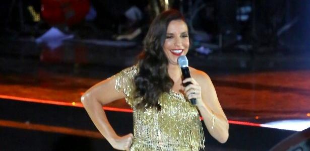 A cantora Ivete Sangalo, que terá de arranjar assuntos bem diferentes nos dois programas do SBT