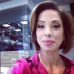 A jornalista do SBT Neila Medeiros