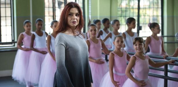 """Françoise Forton, que atualmente é uma professora de balé em """"I Love Paraisópolis"""""""