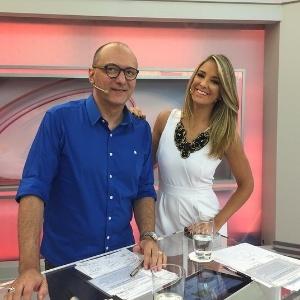 """Britto Jr. e Ticiane Pinheiro apresentam o """"Programa da Tarde"""""""