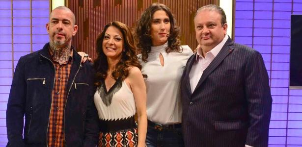 Fogaça, Ana Paula, Paola e Jacquin, do MasterCheff