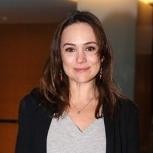 A atriz Gabriela Duarte