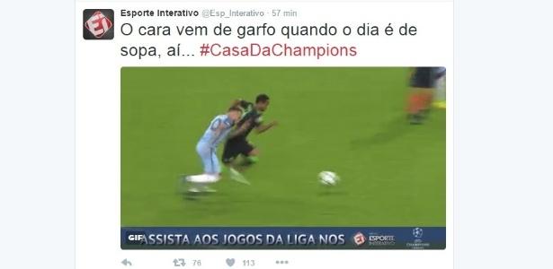 Esporte Interativo usa a hashtag #ACasadaChampions