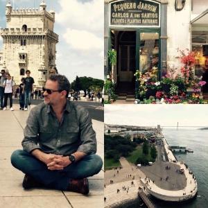 """Dan Stulbach grava a série """"História Não Escrita"""" em Portugal"""