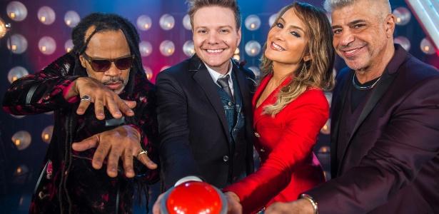 """Carlinhos Brown, Michel Teló, Claudia Leitte e Lulu Santos são os técnicos da quarta temporada do """"The Voice Brasil"""""""