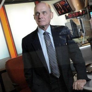 Ricardo Boechat viajou aos Estados Unidos para um seminário de debates políticos