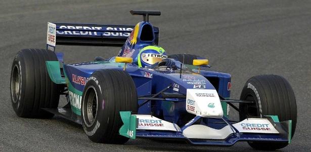 massa durante ano de estreia na formula pela sauber em 2002 1472735487686 615x300 - Felipe Massa anuncia aposentadoria da Fórmula 1 após 14 temporadas