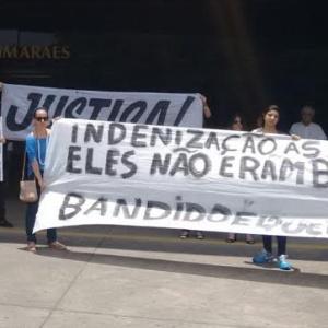 Protesto pela chacina da Pavilhão 9; PM e ex-PM foram presos