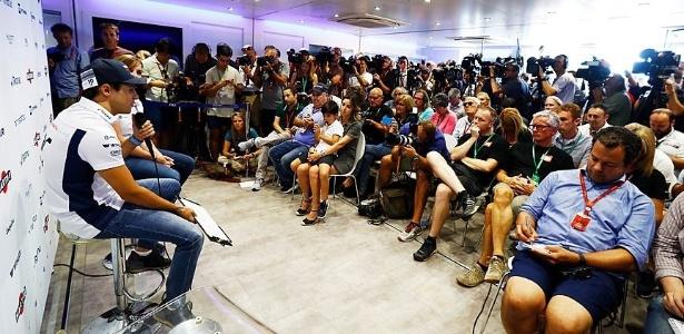 massa durante anuncio de aposentadoria da formula 1 entrevista emotiva no adeus 1472735411737 615x300 - Felipe Massa anuncia aposentadoria da Fórmula 1 após 14 temporadas