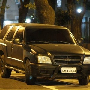 Suposto carro de polícia atirou contra manifestantes no Rio de Janeiro