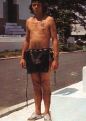 Hansi Richard Günther Hauck, nascido em Grub am Forst, na Bavária, mora em Manaus e acredita ser Tatunca Nara, chefe da tribo Ugha Mongulala. Acima, Tatunca Nara em imagem sem data divulgada pelo escritor Karl Brugger