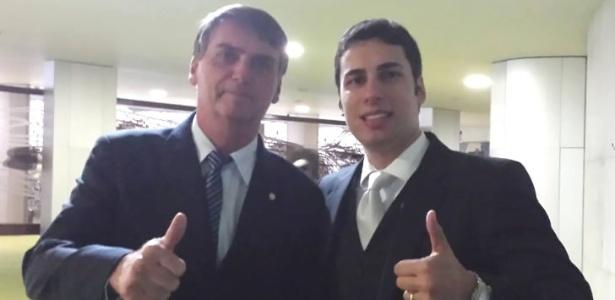 "Jair Bolsonaro (PP-RJ) e Matheus Sathler (PSDB-DF): ""eixo liberal-conservador"""