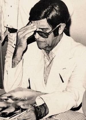 O médium Chico Xavier, falecido em 2002