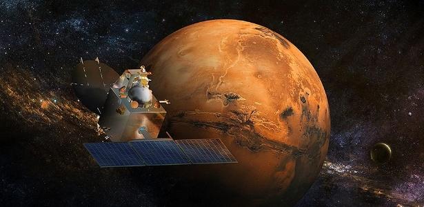 Os cientistas têm tentado descobrir como Marte se transformou de um planeta úmido e supostamente semelhante à Terra nos seus primeiros estágios num deserto frio e seco atualmente