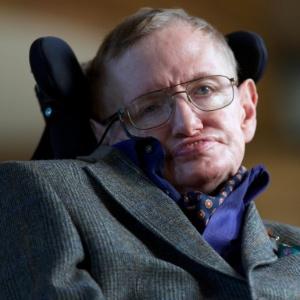 O físico britânico Stephen Hawking