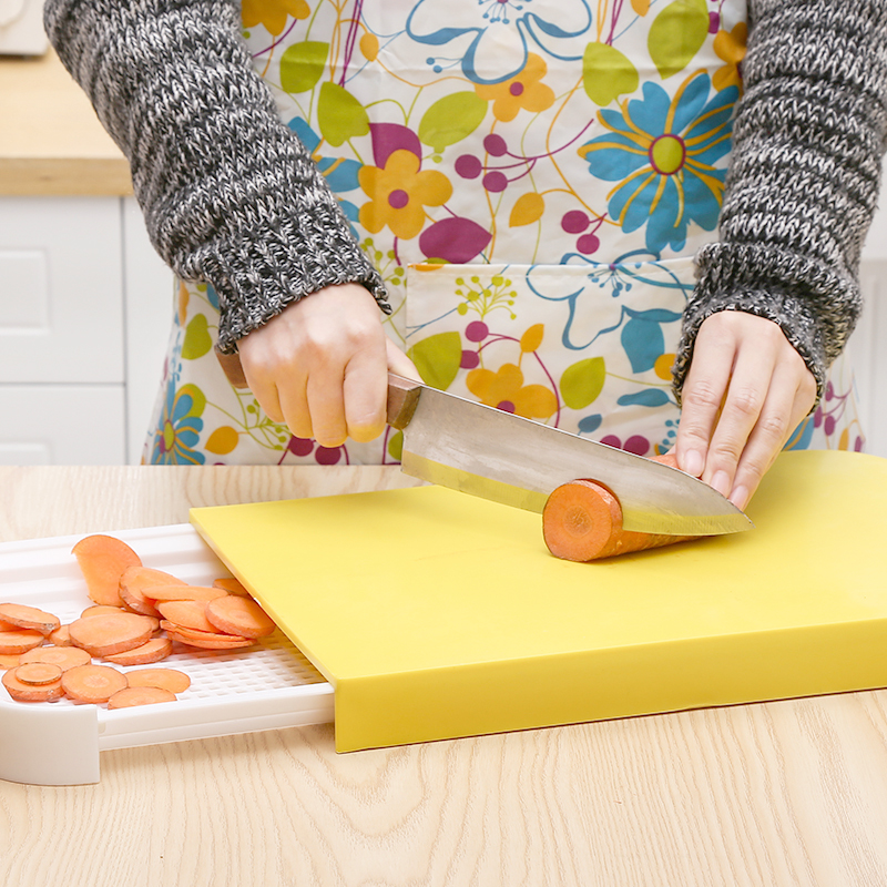 kitchen cutting boards sink cabinet 临沂市临沂菜板厂家 供应临沂菜板 一呼百应网 多功能塑料切菜板便携式蔬菜水果切板双层pp优质厨房