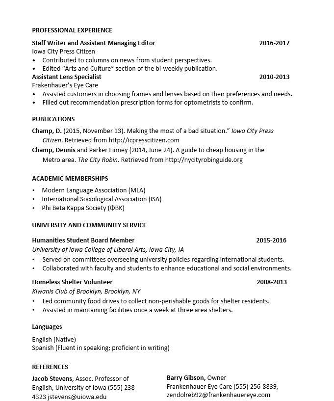 申請留學履歷表怎麼寫 - 留學板 | Dcard