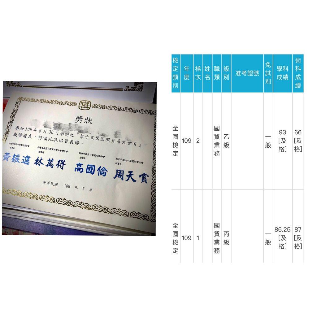 一年內一次考過國貿丙級,國貿大會考,國貿乙級分享 - 考試板 | Dcard