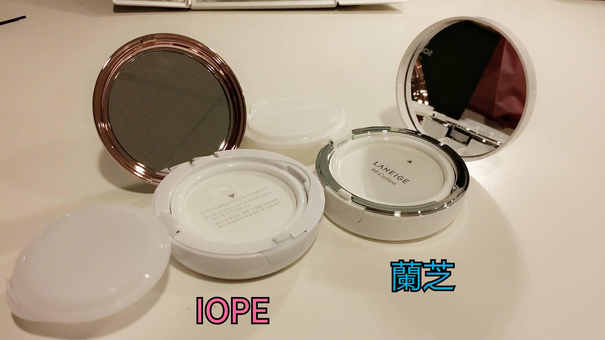 #比較 2016新款氣墊粉餅-蘭芝與IOPE - 美妝板 | Dcard