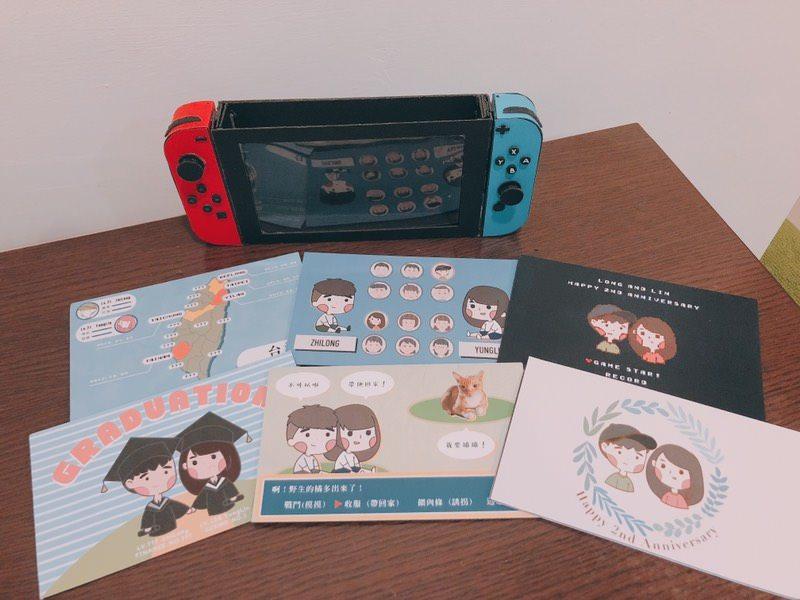 #手作卡片 #2週年Switch遊戲機卡片 - 手作板 | Dcard