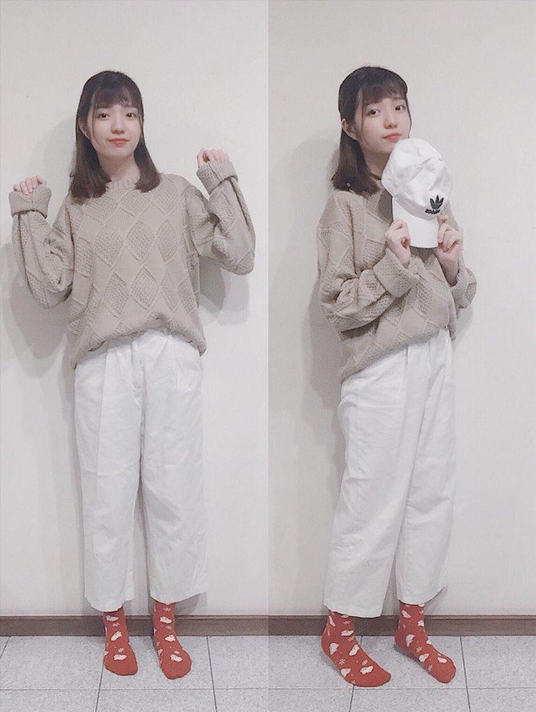 (更)奶茶色毛衣6+1種穿搭♡ - 穿搭板 | Dcard