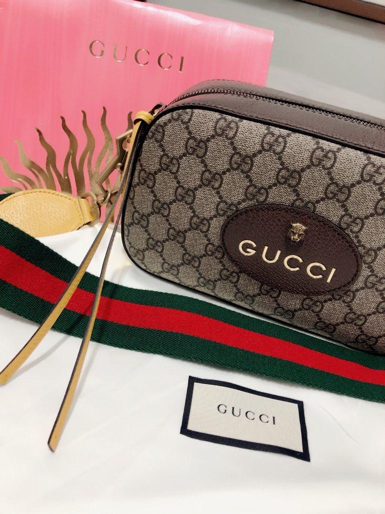 #精品 Gucci supreme messenger bag - 女孩板   Dcard