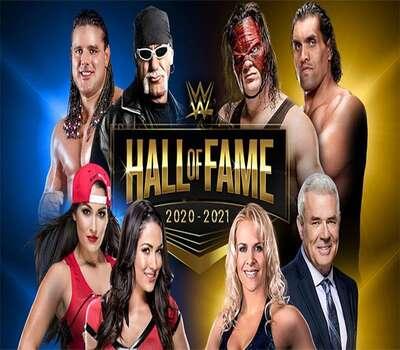 WWE Hall of Fame 2021 (2021) English 720p WEBRip x264 750MB Download