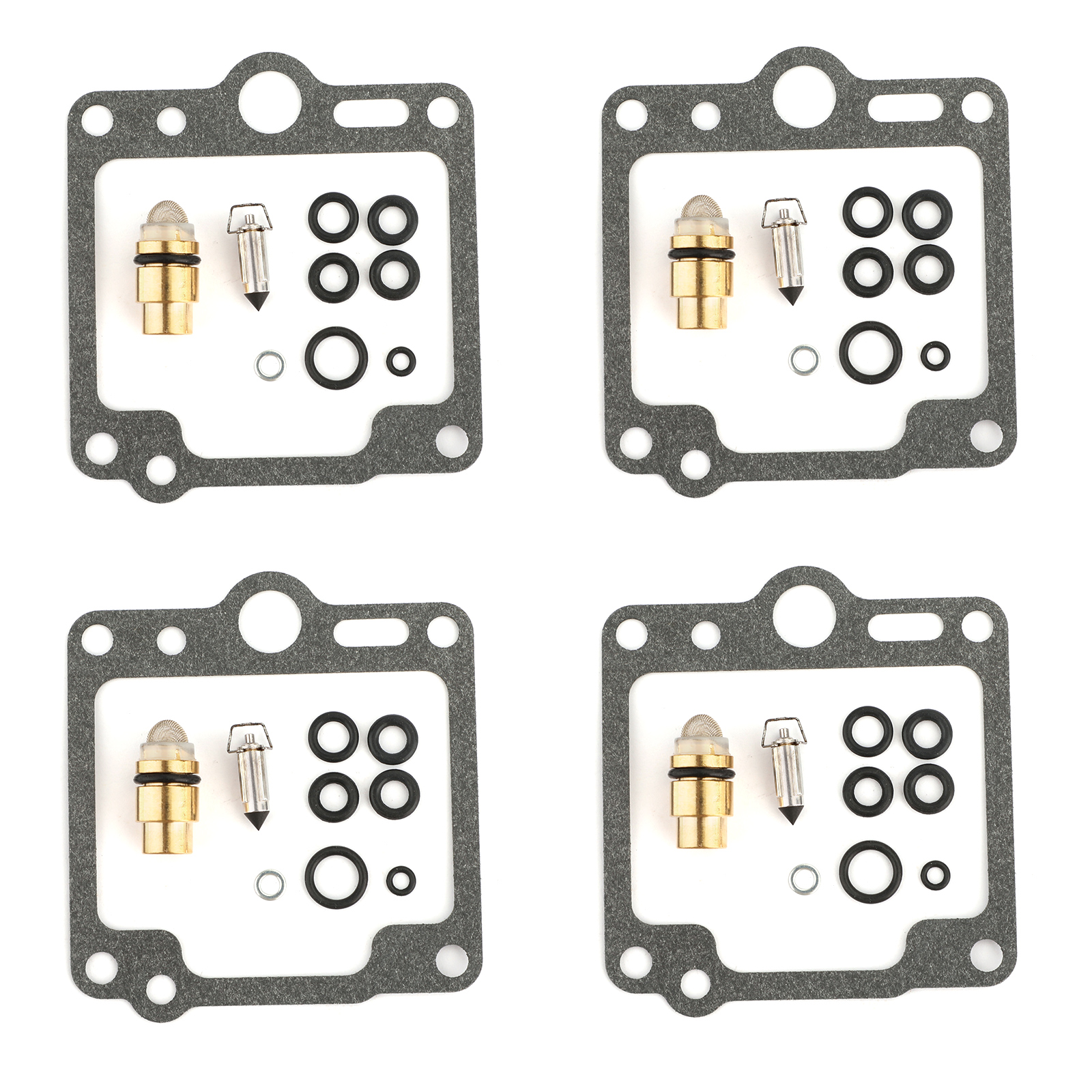 4 Sets Carburetor Repair Kit for Yamaha XJ700 Maxim X 700