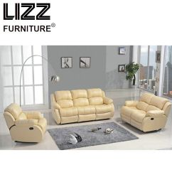 Electric Sofa Set Extra Large Sectional Sofas Genuine Leather Modern With Wooden Frame By Lizz