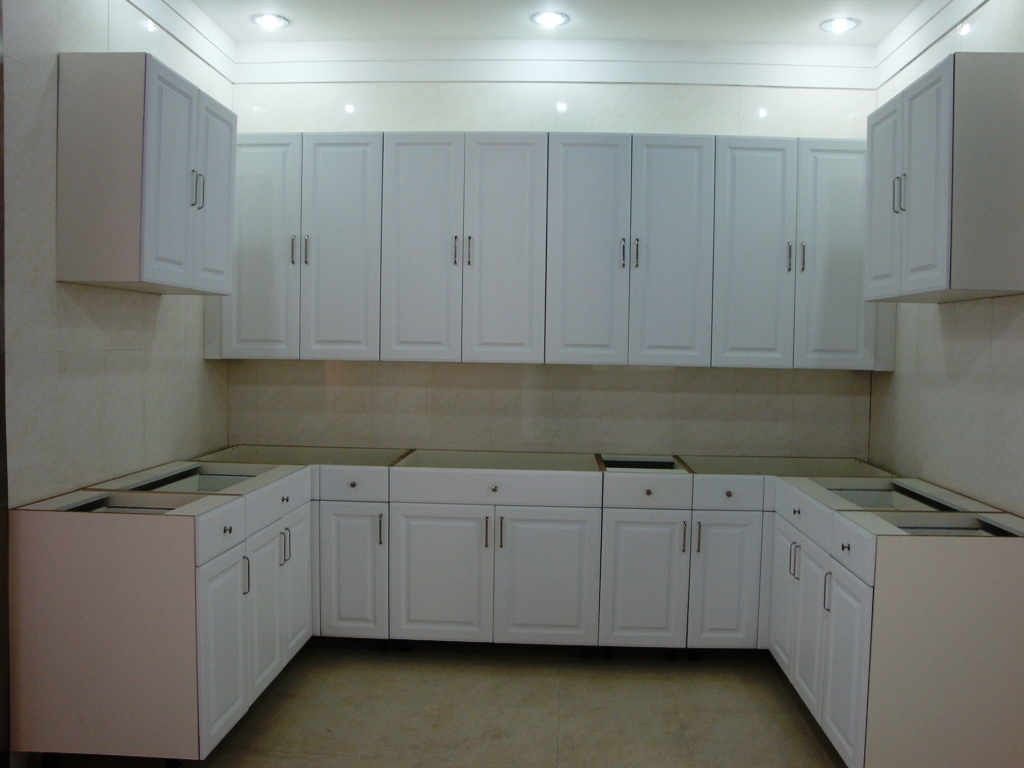plywood kitchen cabinets step pvc faced mdf cabinet doors slotted