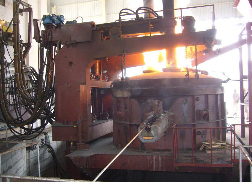 Electric Arc Furnace By Shanghai Metallurgy Import and