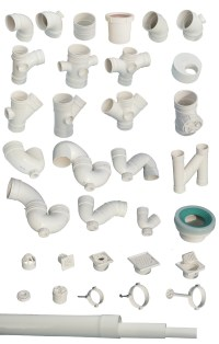 PVC-U Pipe and fittings for drainage By Shanghai Tomson ...