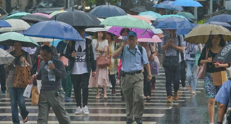 鋒面12日南移 周五愈晚雨愈緩 - 翻爆 - 翻報