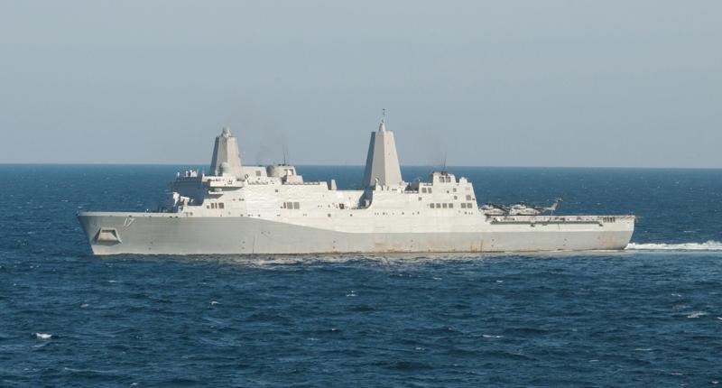 美大噸位兩棲艦 高調過臺海 - 翻爆 - 翻報