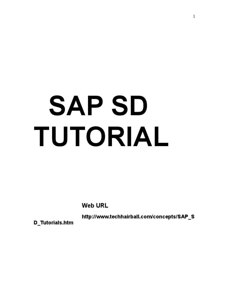medium resolution of sap sd