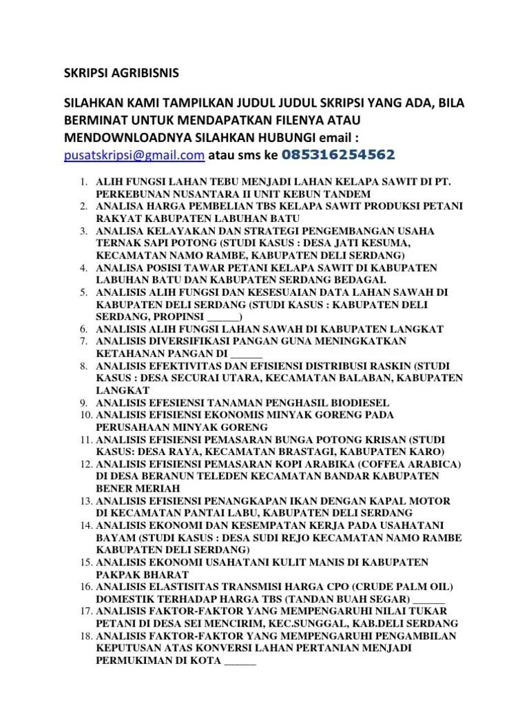 Judul Skripsi Agribisnis : judul, skripsi, agribisnis, SKRIPSI, AGRIBISNIS