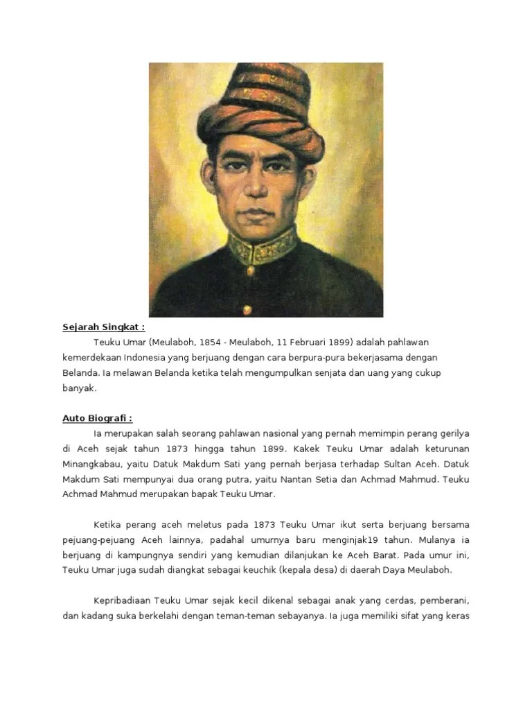 Gambar Pahlawan Indonesia Dan Asal Daerahnya