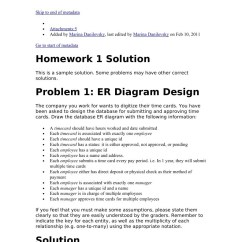 Er Diagram Practice Problems With Solutions Slip Ring Induction Motor Wiring Data Management