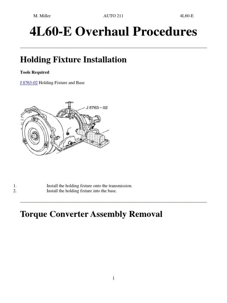 medium resolution of 4l60e transmission pump diagram