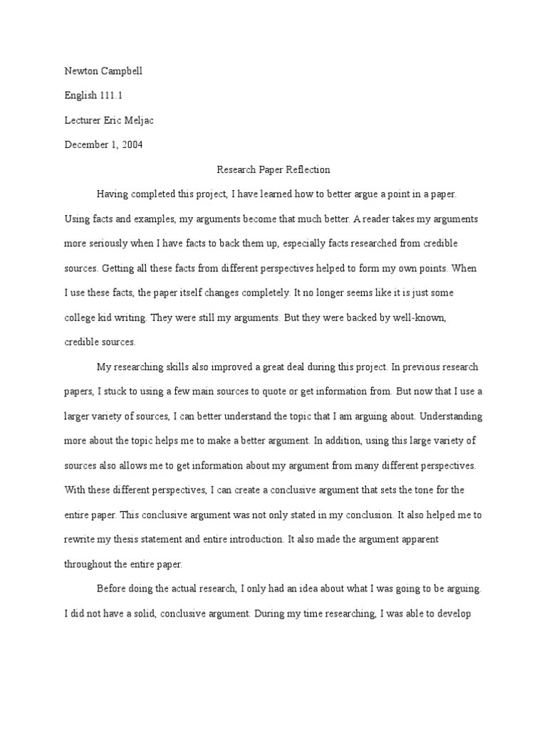 English Class Reflection Essay Introduction About Education Essay