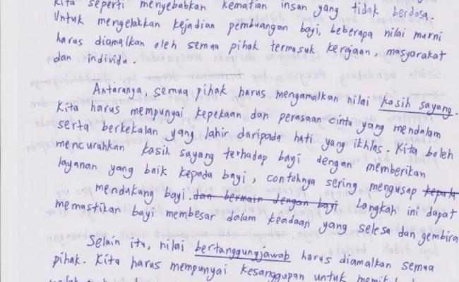 Contoh Kerja Kursus Pendidikan Moral Tugasan Harian Cute766