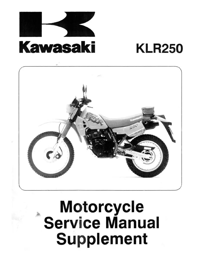hight resolution of klr 250 part diagram
