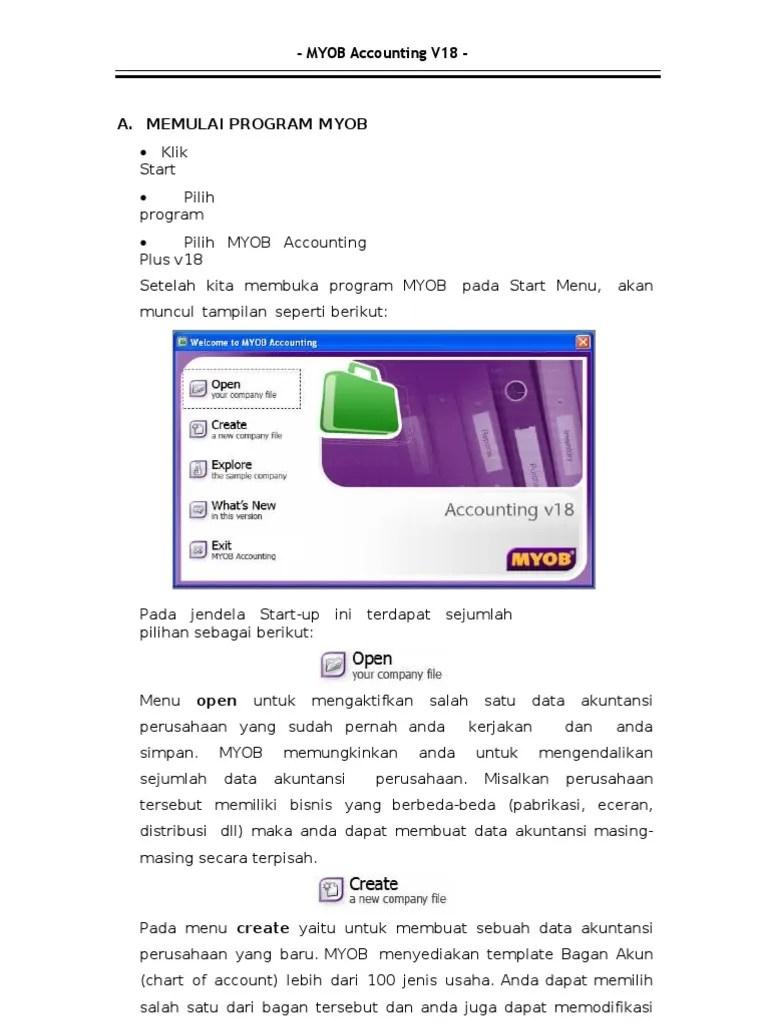 Klasifikasi Akun Pada Myob Accounting Versi 18 : klasifikasi, accounting, versi, 82260661-myob