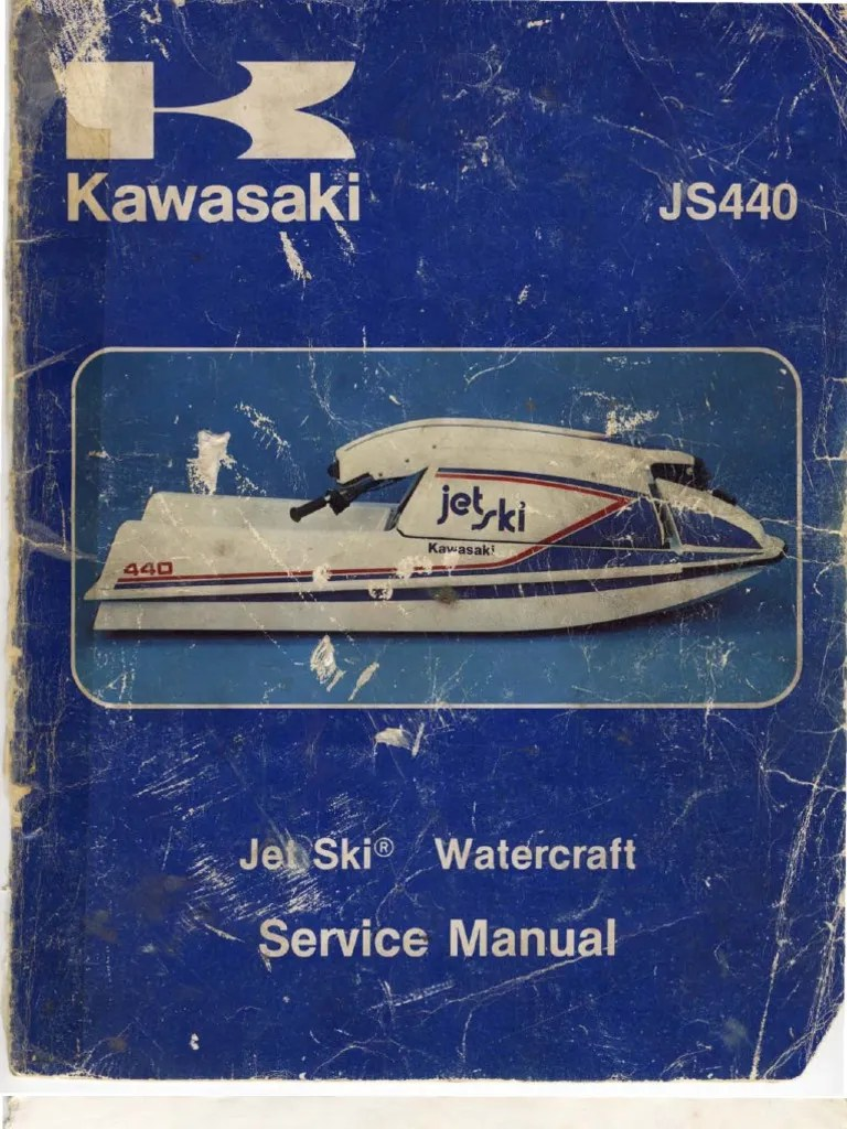 medium resolution of jet ski js440 manual piston carburetor rh es scribd com kawasaki ltd 440 wiring diagram kawasaki
