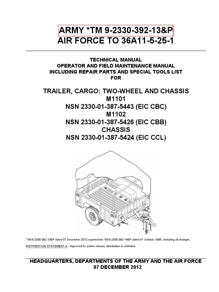 army 5 wire trailer wiring diagram [ 768 x 1024 Pixel ]